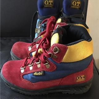 ジーティーホーキンス(G.T. HAWKINS)のおまとめ買い歓迎!登山靴キッズ20センチ赤(登山用品)