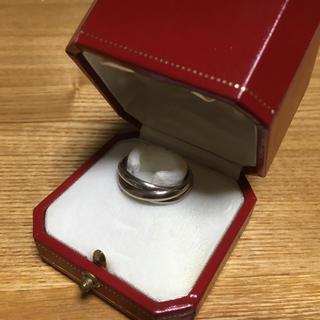 カルティエ(Cartier)のCartier TRINITY カルティエ トリニティー WG 61(リング(指輪))
