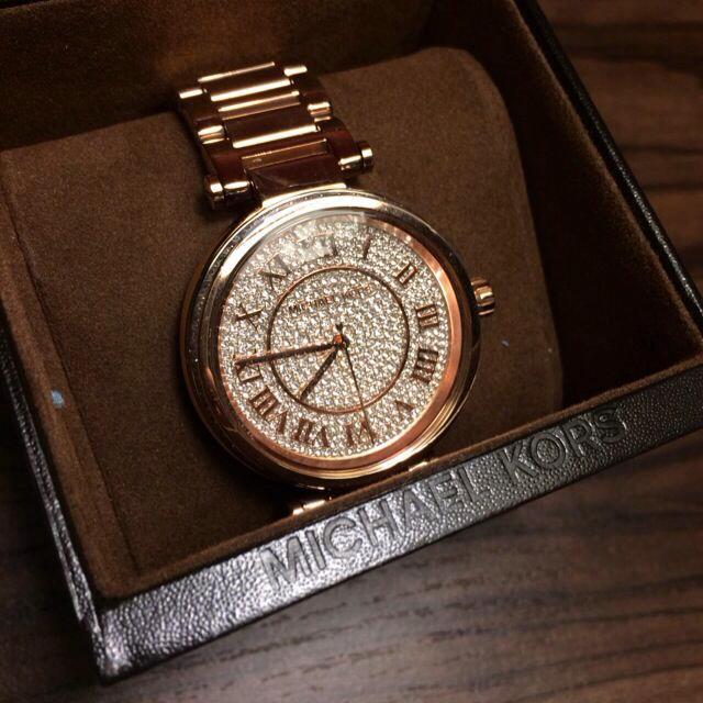 ゆん様専用 マイケルコース時計 レディースのファッション小物(腕時計)の商品写真