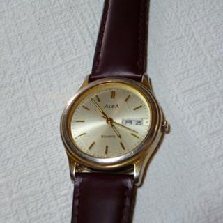 アルバ(ALBA)のALBA QUARTZ(USED)、ベルト=新品(腕時計(アナログ))