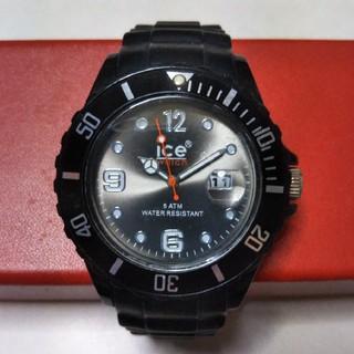 アイスウォッチ(ice watch)の美品アイスウォッチ Black(腕時計(アナログ))