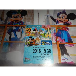 ディズニー(Disney)のディズニーリゾートライン 2日フリーきっぷ1枚(おとな)(鉄道乗車券)