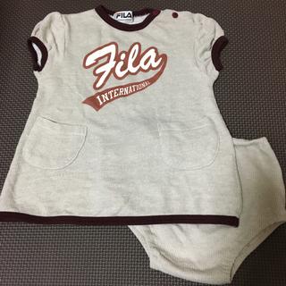フィラ(FILA)のFILA 半袖 上下 80(Tシャツ)