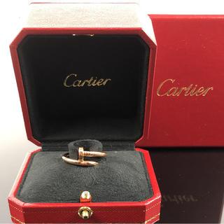 カルティエ(Cartier)の確実正規品Cartierジュストアンクル リング(リング(指輪))