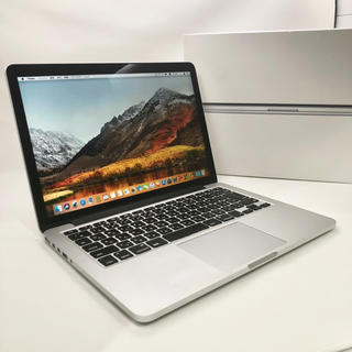 マック(Mac (Apple))の格安高スペック!MacBook Pro Retina 2012 SSD256GB(ノートPC)