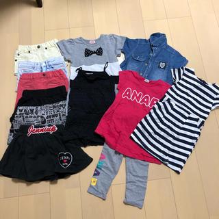アナップキッズ(ANAP Kids)の女の子/まとめ売り100〜110(Tシャツ/カットソー)