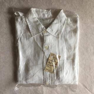 ムジルシリョウヒン(MUJI (無印良品))の【未使用】無印 フレンチリネン洗いざらしシャツ メンズS(シャツ)