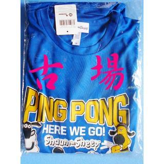 ドニック(DONIC)のDONIC/ドニック★ひつじのショーンTシャツ2018★ブルー★Mサイズ(卓球)