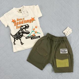リトルベアークラブ(LITTLE BEAR CLUB)の80 上下セット(Tシャツ)