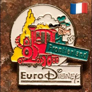 ディズニー(Disney)の* 90s  パリ グーフィー ビンテージ ピンバッジ (303)* (ブローチ/コサージュ)