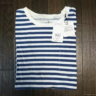 ロデオクラウンズワイドボウル(RODEO CROWNS WIDE BOWL)のRODEO CROWNS WIDE BOWL ボーダーポケット Tシャツ 新品(Tシャツ/カットソー(半袖/袖なし))