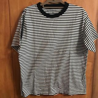 ムジルシリョウヒン(MUJI (無印良品))の綿ボーダー半袖Tシャツ 無印良品(Tシャツ/カットソー(半袖/袖なし))