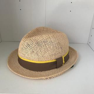キッズフォーレ(KIDS FORET)のキッズフォーレ ペーパーハット ページュ(帽子)