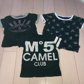マーキーズ(MARKEY'S)の㉑ 半袖 Tシャツ 3枚セット 80cm(Tシャツ)