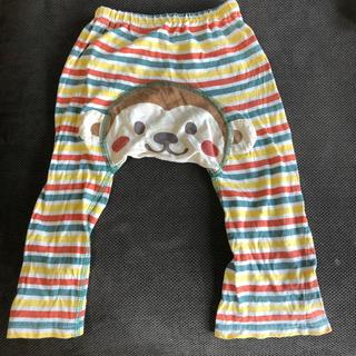 シマムラ(しまむら)のおサル ズボン 80 お尻がお猿の顔です❤︎(パンツ)