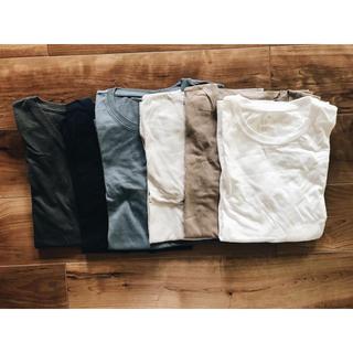 ムジルシリョウヒン(MUJI (無印良品))の無印良品 muji Tシャツ セット売り(Tシャツ(半袖/袖なし))