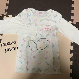 メゾピアノ(mezzo piano)のメゾピアノ*長袖(Tシャツ/カットソー)
