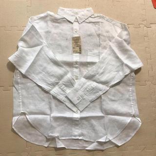 ムジルシリョウヒン(MUJI (無印良品))の無印良品 新品タグ付き ワイドシャツ  M〜L(シャツ/ブラウス(長袖/七分))