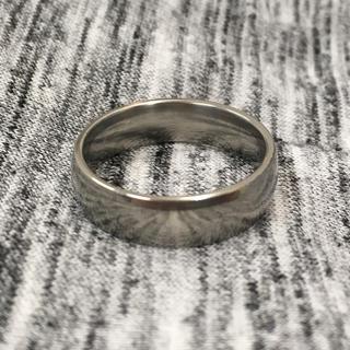 サージカルステンレス ラウンドリング  指輪(リング(指輪))