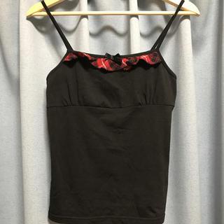 リズリサドール(LIZ LISA doll)のキャミソール ブラック(キャミソール)