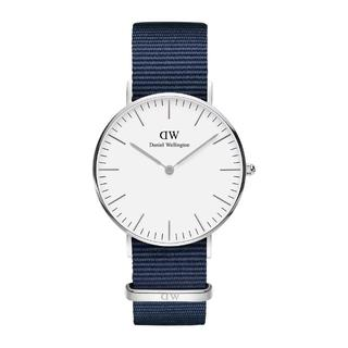 ダニエルウェリントン(Daniel Wellington)の新品 DW CLASSIC 40MM シルバー ブルー(腕時計(アナログ))