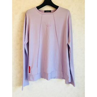プラダ(PRADA)のPRADA ストレッチロンT ラベンダー(^^♪(Tシャツ(長袖/七分))