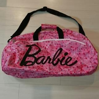 バービー(Barbie)のボストンバッグ  Barbie 星柄 ピンク(ボストンバッグ)