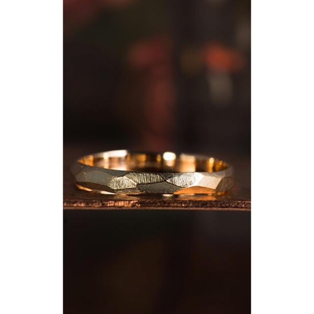 AURORA GRAN(オーロラグラン)の未使用 試着のみ 現行品 オーロラグラン リッジリング K10  レディースのアクセサリー(リング(指輪))の商品写真