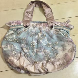 アクセサライズ(Accessorize)のAccessorize  ビーズ 刺繍  バッグ トートバッグ 未使用品(トートバッグ)