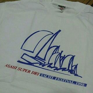 アサヒ(アサヒ)のアサヒスーパードライメンズTシャツLサイズ(Tシャツ/カットソー(半袖/袖なし))