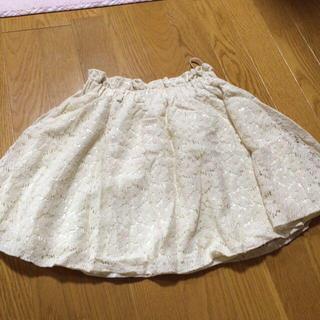 アベイル(Avail)の白レース♡スカート(ミニスカート)