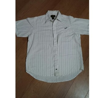 イズキール(EZEKIEL)の半袖シャツ メンズ Mサイズ EZEKIEL ストライプ(シャツ)