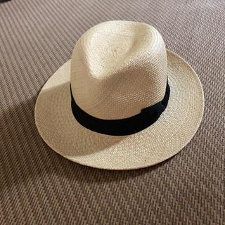 パナマハット(Panama Hat)のイタリア製 パナマハット(麦わら帽子/ストローハット)