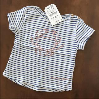 ザラ(ZARA)のZARA❤️86㎝ カニさん Tシャツ(Tシャツ)