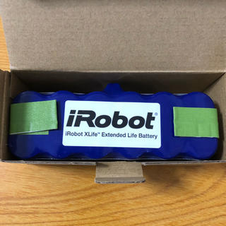 アイロボット(iRobot)の新品ルンバ純正xlifeバッテリー(掃除機)