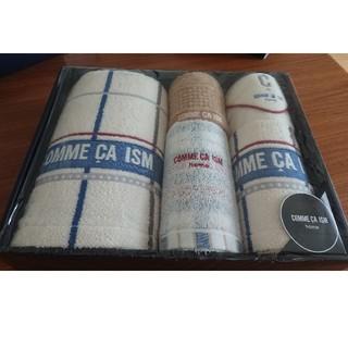 コムサイズム(COMME CA ISM)の新品未使用COMME CA ISM home 5点タオルセット(タオル/バス用品)