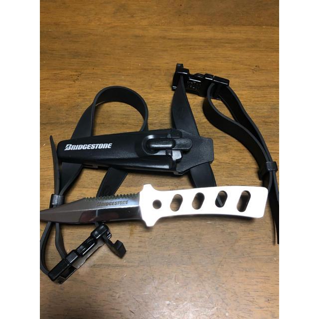 Bism(ビーイズム)のダイビング用ナイフ ブリヂストン AK2000K ダイバーナイフ ビーイズム  スポーツ/アウトドアのスポーツ/アウトドア その他(マリン/スイミング)の商品写真