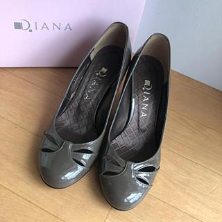 ダイアナ(DIANA)のDIANA エナメル パンプス 21.5cm(ハイヒール/パンプス)