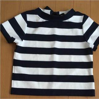 ミスティウーマン(mysty woman)のmysty Woman ボーダー Tシャツ(Tシャツ(半袖/袖なし))