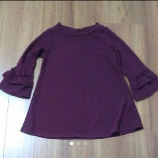 クチュールブローチ(Couture Brooch)の七分袖 チュニック(チュニック)