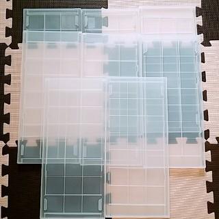 ムジルシリョウヒン(MUJI (無印良品))の新品☆無印良品 ポリプロピレン追加用ストッカー天板 8枚(ケース/ボックス)