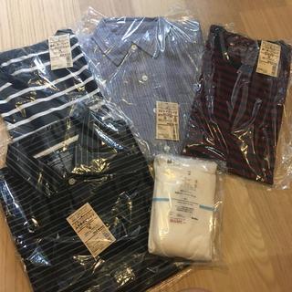 ムジルシリョウヒン(MUJI (無印良品))の無印良品 メンズMサイズ 総額1万円以上 5点セット (Tシャツ/カットソー(半袖/袖なし))