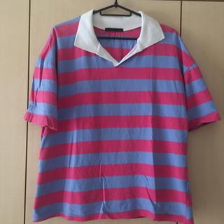 スピンズ(SPINNS)のスピンズ(SPINNS)ボーダーポロシャツ(ポロシャツ)