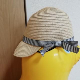 ムジルシリョウヒン(MUJI (無印良品))の無印 ペーパーハット 52センチ(帽子)