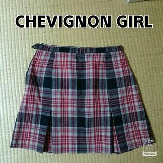 シェビニオン(CHEVIGNON)のシェビニオンガールプリーツスカート(ミニスカート)