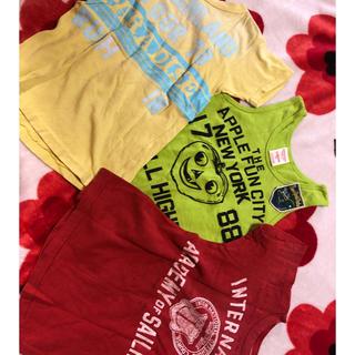 デニムダンガリー(DENIM DUNGAREE)のデニムアンドダンガリーDD3枚セット120福袋お値下げ(Tシャツ/カットソー)