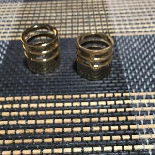 エイチアンドエム(H&M)のゴールドリング(リング(指輪))