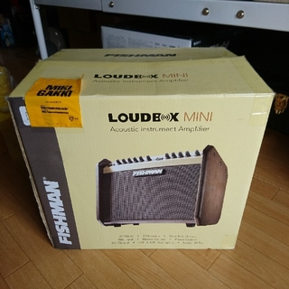 FISHMAN Loudbox mini  60W(パワーアンプ)