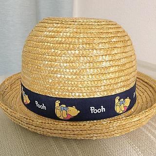 Disney - Disney プーさん 麦わら帽子♡ベビー 48センチ