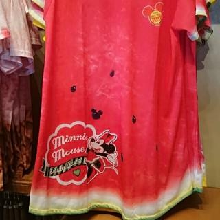 ディズニー(Disney)のミニー スイカシャツ(シャツ/ブラウス(半袖/袖なし))